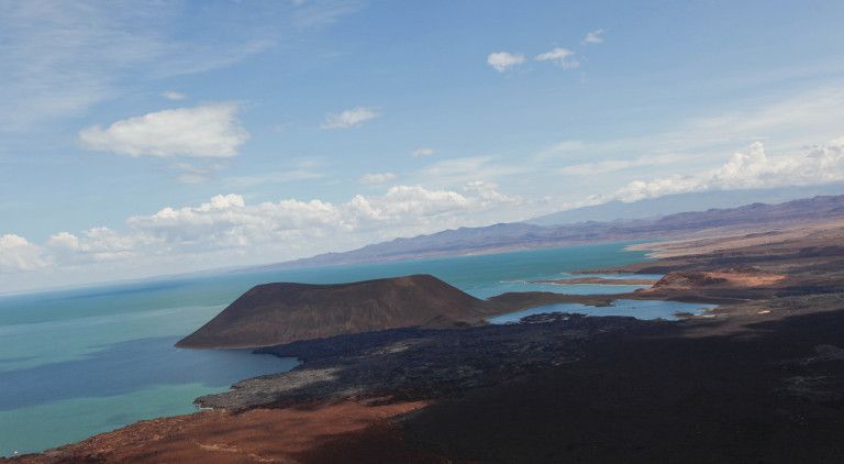 Lake Turkana and Nabiyotum in the distance (Photo credit- Mikey Carr-Hartley)