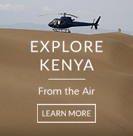 The Safari Collection's helicopter touched down in the Suguta Valley sand dunes, Kenya